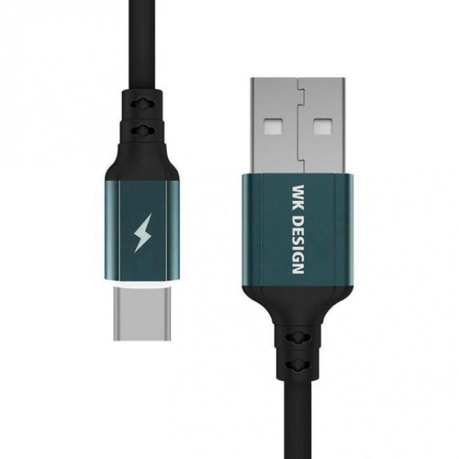 کابل تبدیل USB به USB-C دبلیو کی مدل WDC-073 طول 1 متر