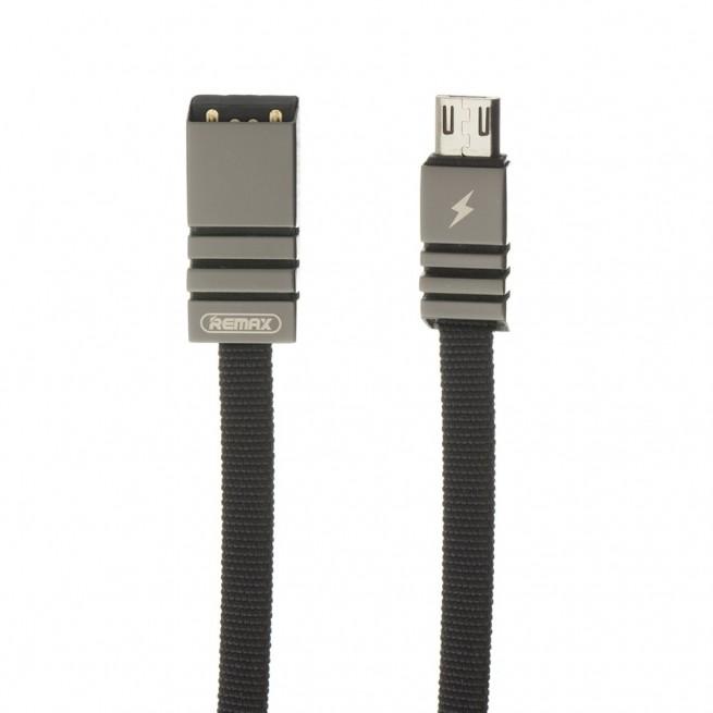 کابل تبدیل USB به MicroUSB ریمکس مدل RC-081m طول 1 متر