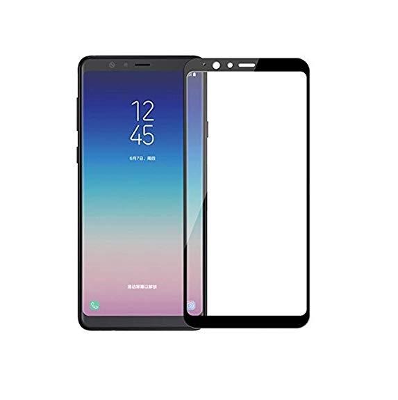 محافظ صفحه نمایش مدل 5D مناسب برای گوشی موبایل سامسونگ Galaxy A8 Plus