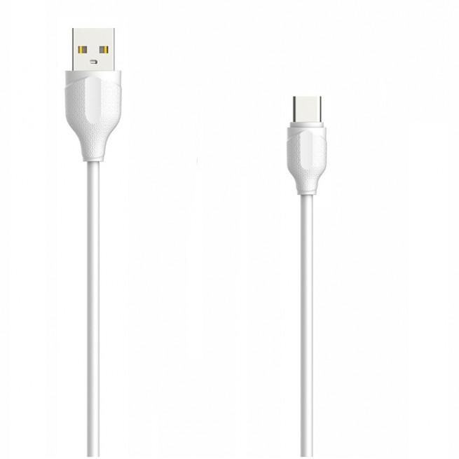 کابل تبدیل USB به USB-C الدینیو مدل LS371 طول 1 متر
