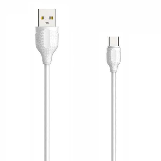 کابل تبدیل USB به USB-C الدینیو مدل LS38 طول 0.3 متر