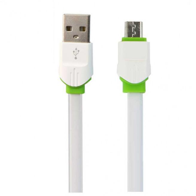 کابل تبدیل USB به MicroUSB الدینیو مدل LS34 طول 1 متر