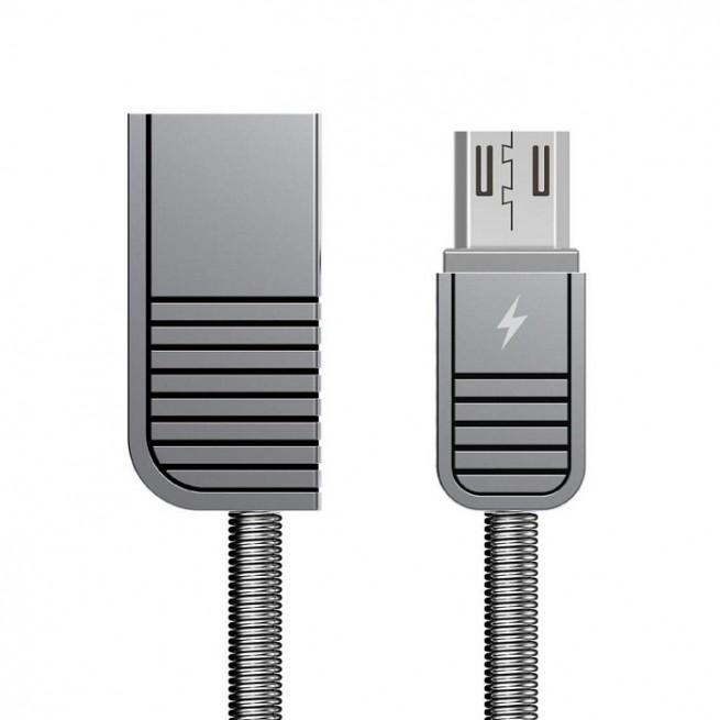 کابل تبدیل USB به MicroUSB ریمکس مدل RC-088m طول 1 متر