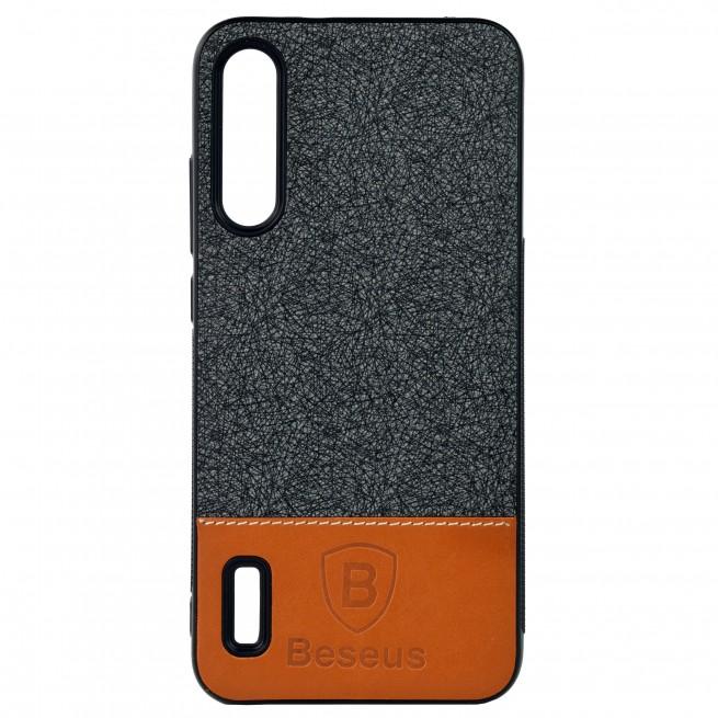 کاور مدل Baseus Leather  مناسب برای گوشی موبایل شیائومی Mi A3