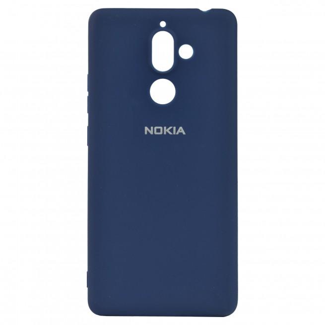 کاور مدل Silicon مناسب برای گوشی موبایل نوکیا 7Plus