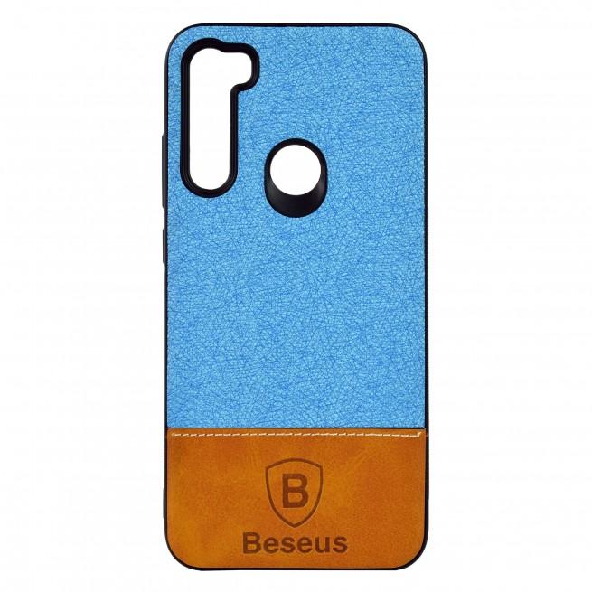 کاور مدل Baseus Leather مناسب برای گوشی موبایل شیائومی Redmi Note 8