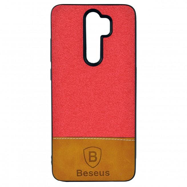 کاور مدل Baseus Leather مناسب برای گوشی موبایل شیائومی Redmi Note 8 Pro