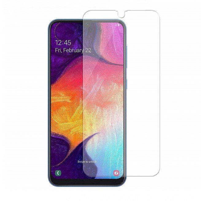محافظ صفحه نمایش مدل Simple مناسب برای گوشی موبایل سامسونگ Galaxy A50S به همراه بسته بندی