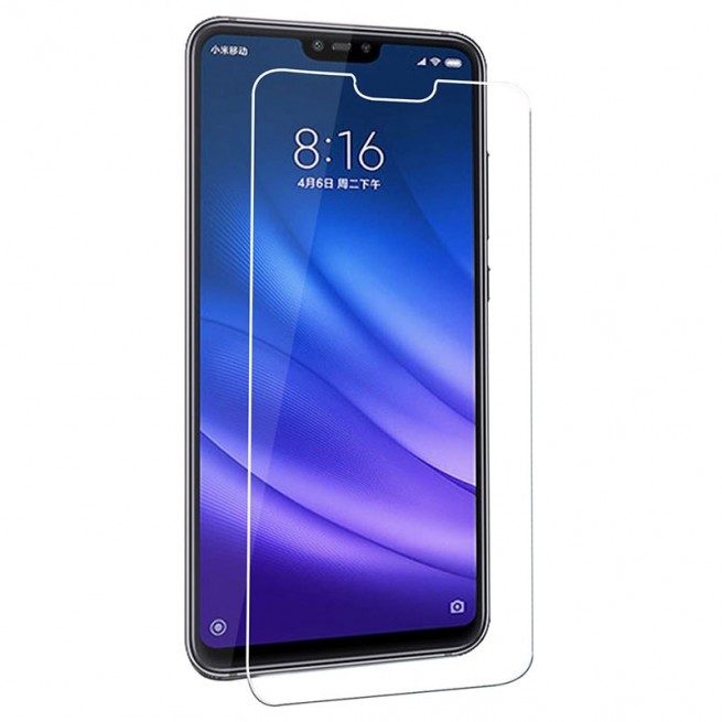 محافظ صفحه نمایش مدل Simple مناسب برای گوشی موبایل شیائومی Mi 8 Lite