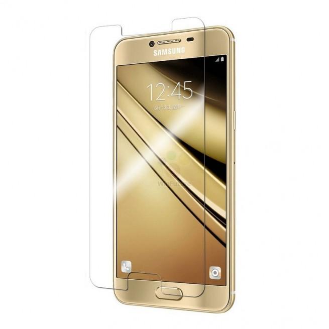 محافظ صفحه نمایش مدل Simple مناسب برای گوشی موبایل سامسونگ Galaxy C7 Pro