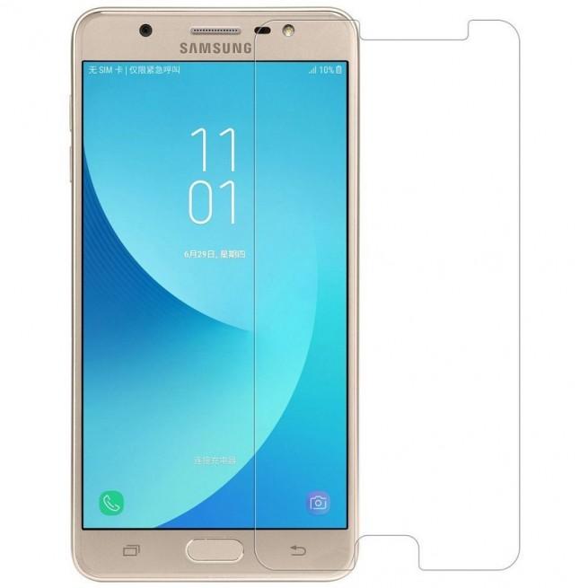 محافظ صفحه نمایش مدل Simple مناسب برای گوشی موبایل سامسونگ Galaxy J7 Max