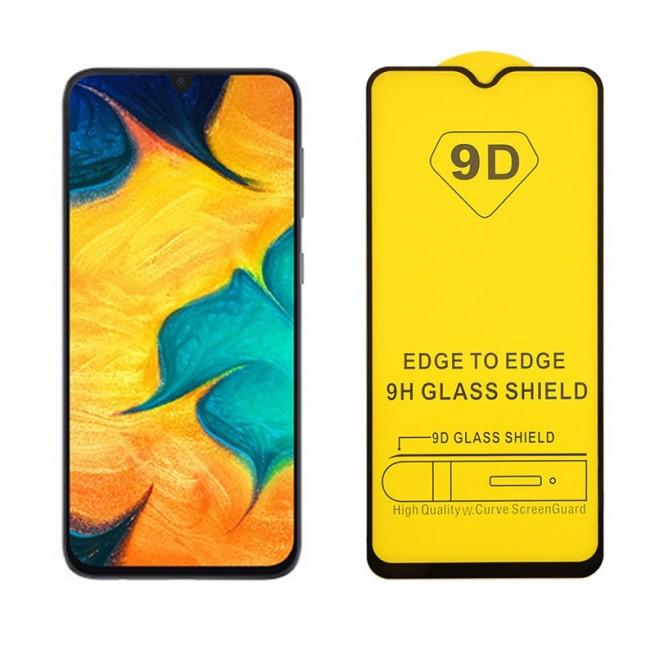 محافظ صفحه نمایش مدل 9D Pro مناسب برای گوشی سامسونگ Galaxy A50S به همراه بسته بندی