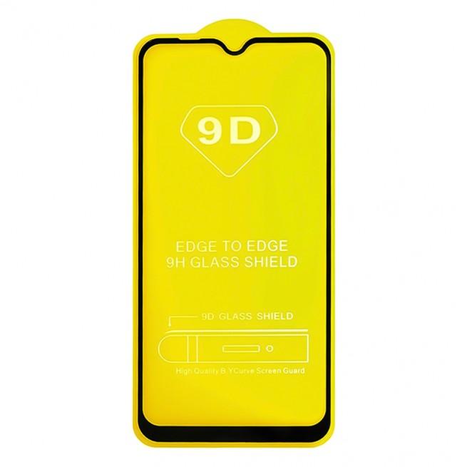 محافظ صفحه نمایش مدل 9D Pro مناسب برای گوشی سامسونگ Galaxy A20S به همراه بسته بندی