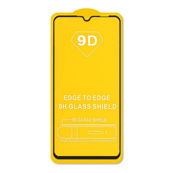 محافظ صفحه نمایش مدل 9D Pro مناسب برای شیائومی Mi A3 به همراه بسته بندی