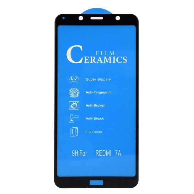 محافظ صفحه نمایش مدل Ceramic 9D مناسب برای گوشی شیائومی Redmi 7A