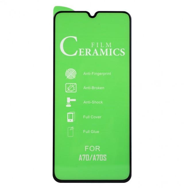 محافظ صفحه نمایش مدل Ceramic 9D مناسب برای گوشی سامسونگ Galaxy A70
