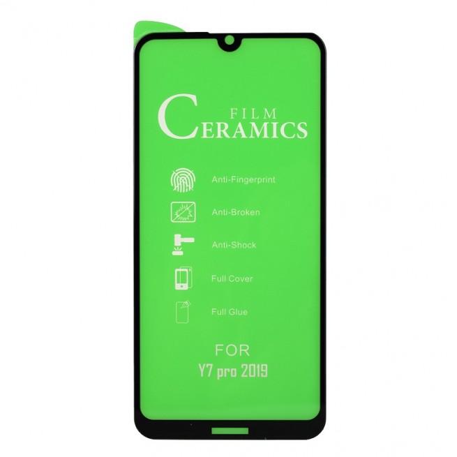 محافظ صفحه نمایش مدل Ceramic 9D مناسب برای گوشی هوآوی Y7 Prime 2019