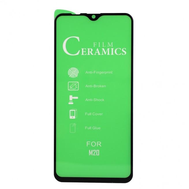محافظ صفحه نمایش مدل Ceramic 9D مناسب برای گوشی سامسونگ Galaxy M20