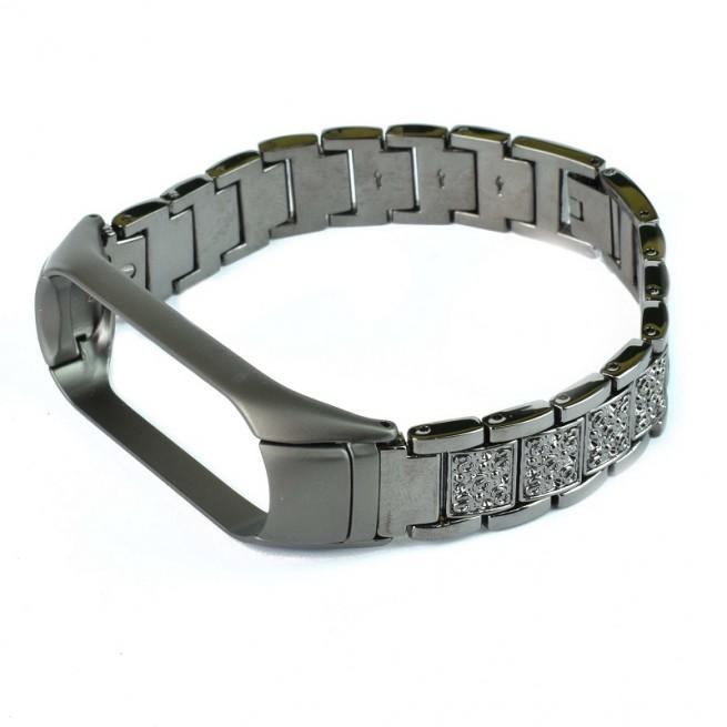 بند فلزی مدل CBXM429 مناسب برای مچ بند هوشمند شیائومی Mi Band 3/4