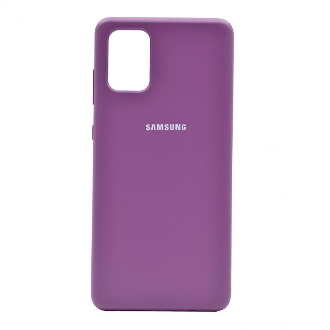 کاور مدل Silicon TPU مناسب برای گوشی موبایل سامسونگ Galaxy A71
