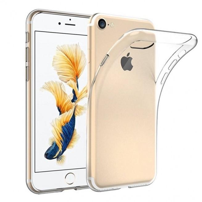 کاور مدل Clear jelly مناسب برای گوشی موبایل اپل iPhone 7 / 8