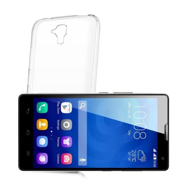 کاور مدل Clear jelly مناسب برای گوشی موبایل آنر 3C