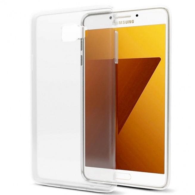 کاور مدل Clear jelly مناسب برای گوشی موبایل سامسونگ Galaxy C7 Pro