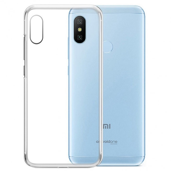 کاور مدل Clear jelly مناسب برای گوشی موبایل شیائومی Mi A2 Lite