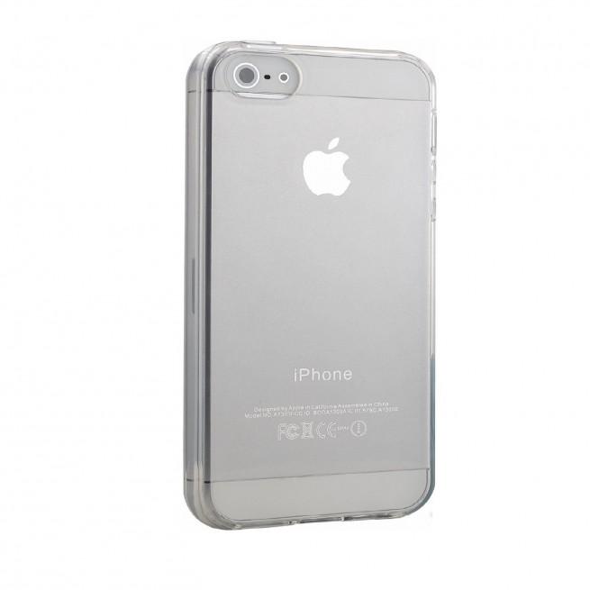 کاور مدل Clear jelly مناسب برای گوشی موبایل اپل iPhone 5