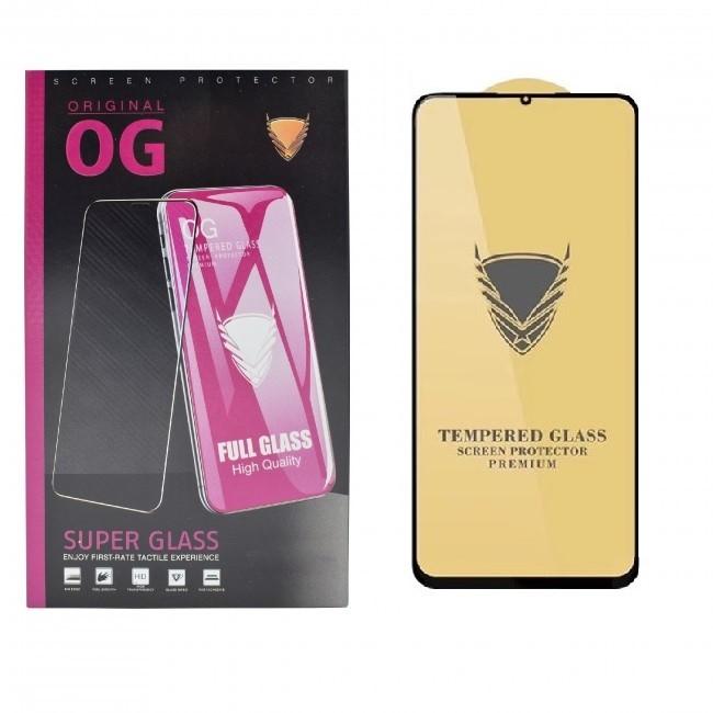محافظ صفحه نمایش OG مدل Golden Armor-GOLD مناسب برای هوآوی Y9s