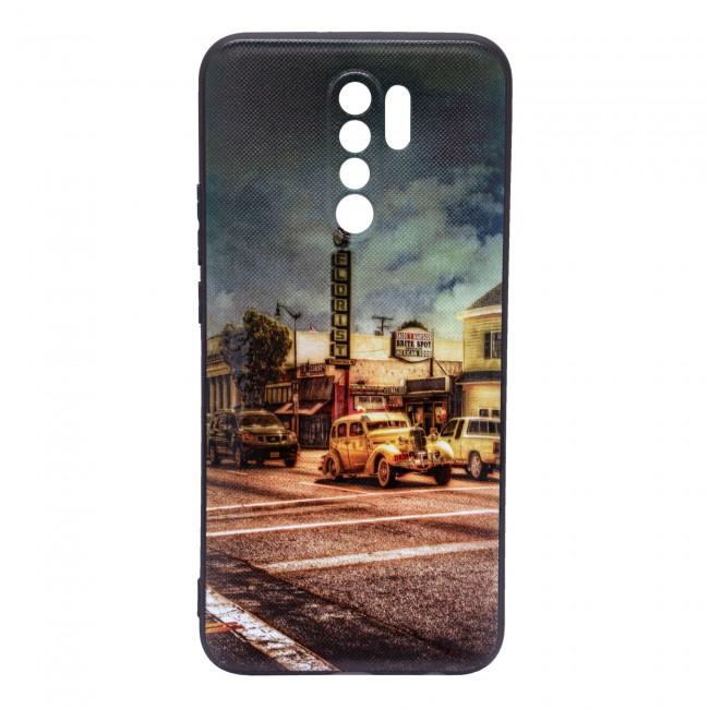 کاور مدل Painted P12 مناسب برای گوشی موبایل شیائومی Redmi 9