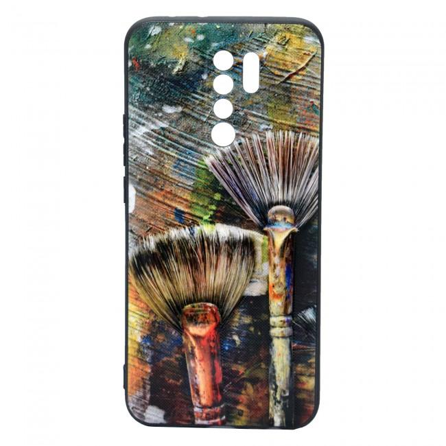 کاور مدل Painted P16 مناسب برای گوشی موبایل شیائومی Redmi 9