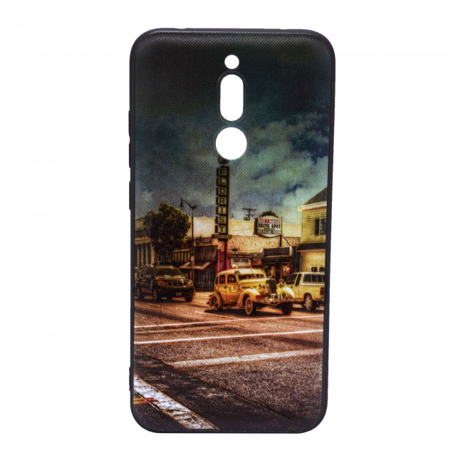 کاور مدل Painted P12 مناسب برای گوشی موبایل شیائومی Redmi 8