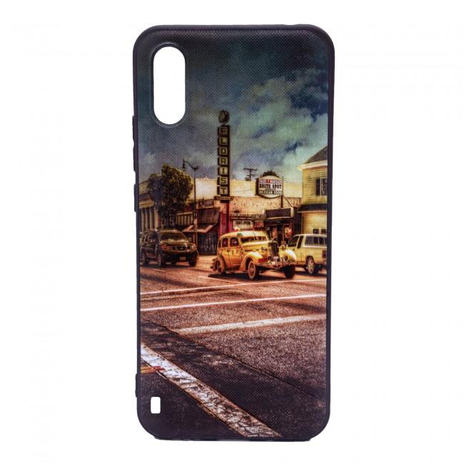کاور مدل Painted P12 مناسب برای گوشی موبایل سامسونگ Galaxy A01