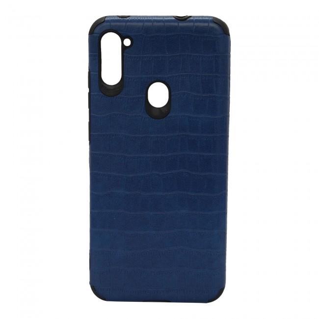 کاور مدل Leather AntiShock موبایل سامسونگ Galaxy A11