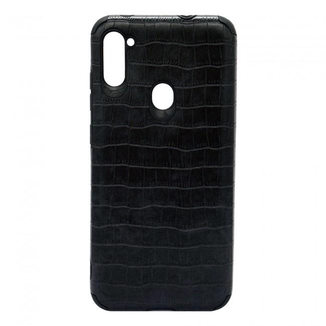 کاور مدل Leather AntiShock موبایل سامسونگ Galaxy M11