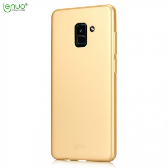محافظ گوشی Lenuo Shield Back Cover Samsung A8 2018
