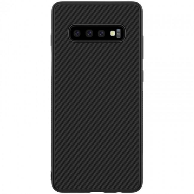 بک کاور نیلکین Samsung Galaxy S10 Nilkin Synthetic Fiber case