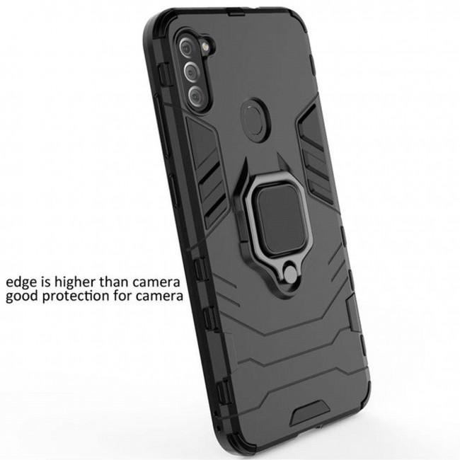کاور مدل Defender Ring مناسب برای گوشی موبایل سامسونگ Galaxy A11