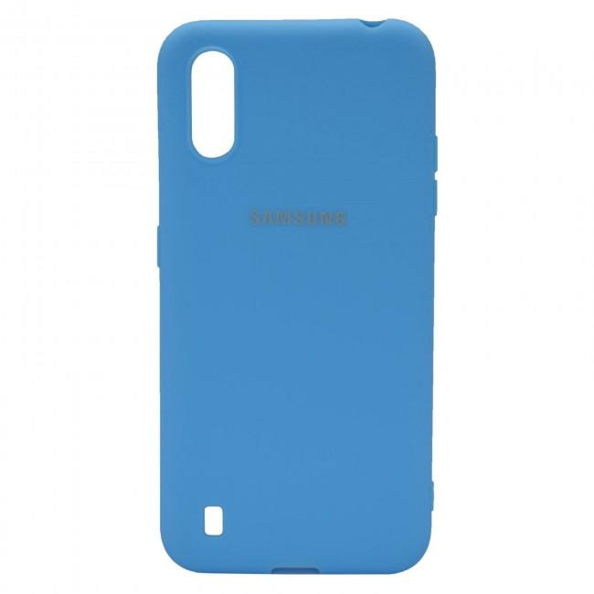 کاور مدل Silicon مناسب برای گوشی موبایل سامسونگ Galaxy A01