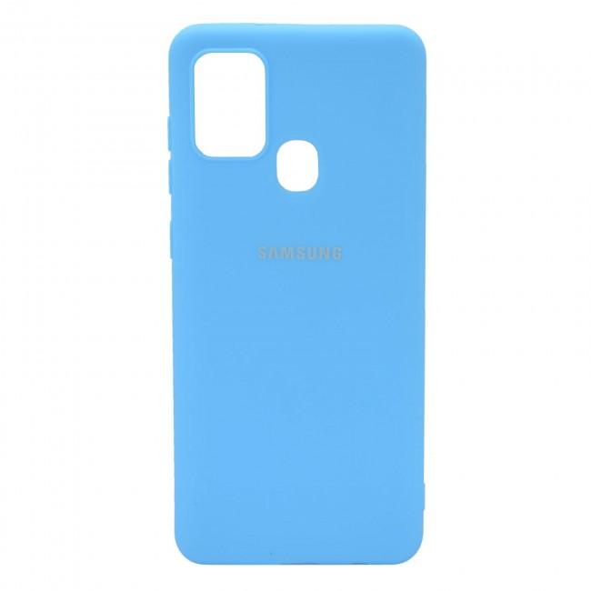 کاور مدل Silicon مناسب برای گوشی موبایل سامسونگ Galaxy A21S