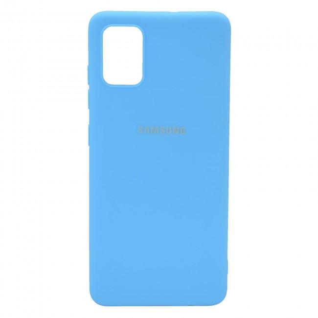 کاور مدل Silicon مناسب برای گوشی موبایل سامسونگ Galaxy A31