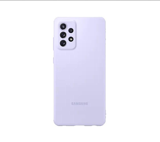 کاور مدل Silicon Campe  سامسونگ Galaxy A72