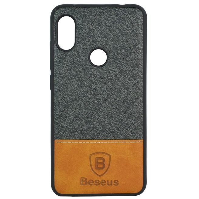 قاب محافظ Xiaomi Redmi Note 6 Pro Baesus Leather