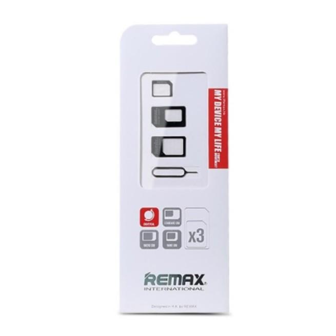 مبدل سيم کارتهاي ميکرو و نانو به استاندارد Remax card Slot