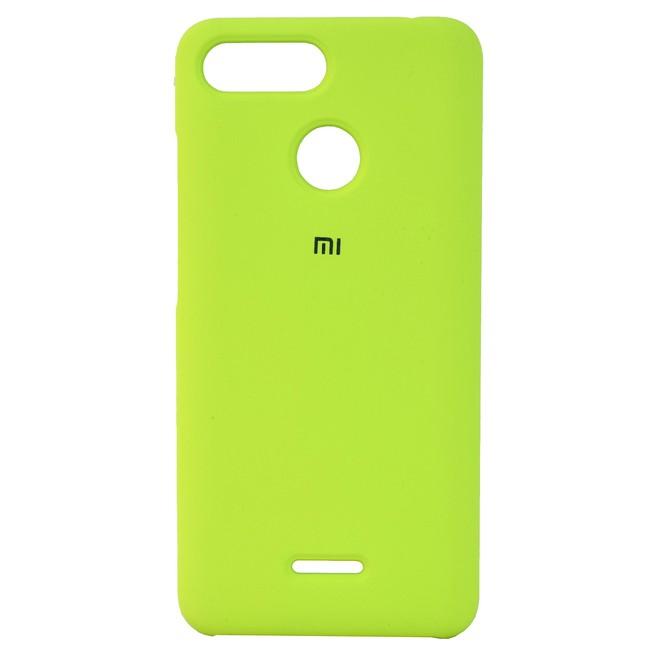 قاب محافظ سیلیکونی Xiaomi Redmi 6 Silicon PC Case