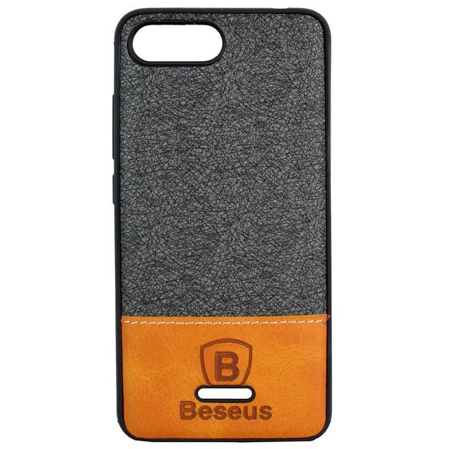 قاب محافظ Xiaomi Redmi 6A Baesus Leather