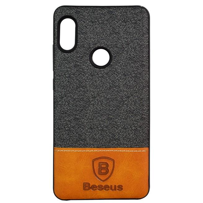 قاب محافظ Xiaomi Redmi Note 5 Pro Baesus Leather