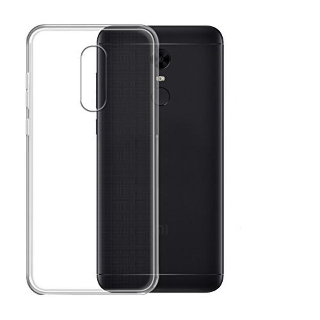 کاور مدل Clear jelly مناسب برای گوشی موبایل شیائومی Redmi 5 Plus