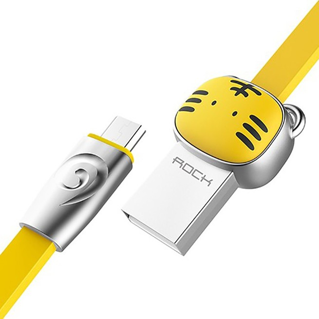 کابل میکرو Rock Chinese Zodiac Micro Cable Tiger RCB0531